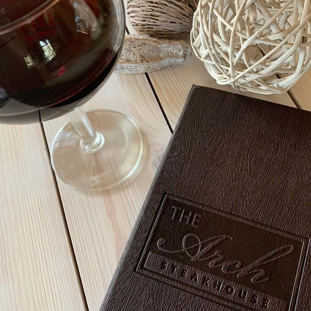Wine and Menu card
